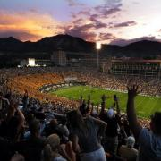 The Colorado Buffaloes play at Folsom Field, named after a famous Colorado Law professor who also was the head football coach