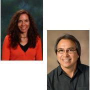 Photo of Sarah Krakoff and Dean James Anaya