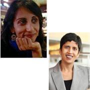 Photos of Seema Sohi and Shoba Wadjha
