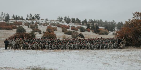 Army ROTC full battalion