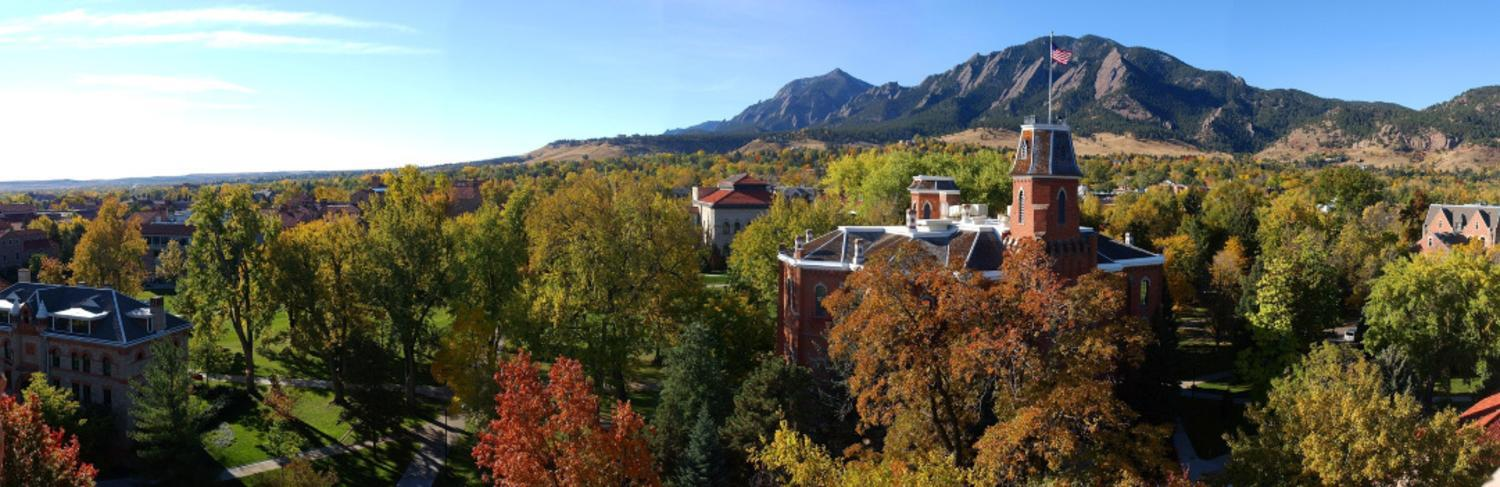Boulder and the Flatirons