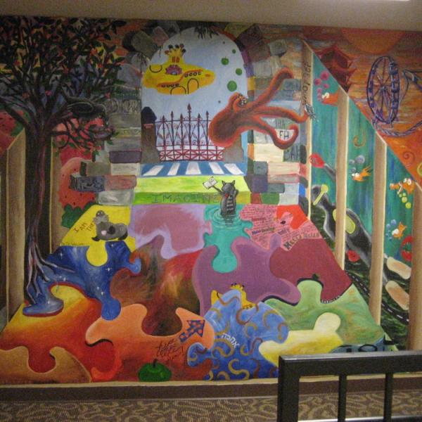 Murals by Libby RAP