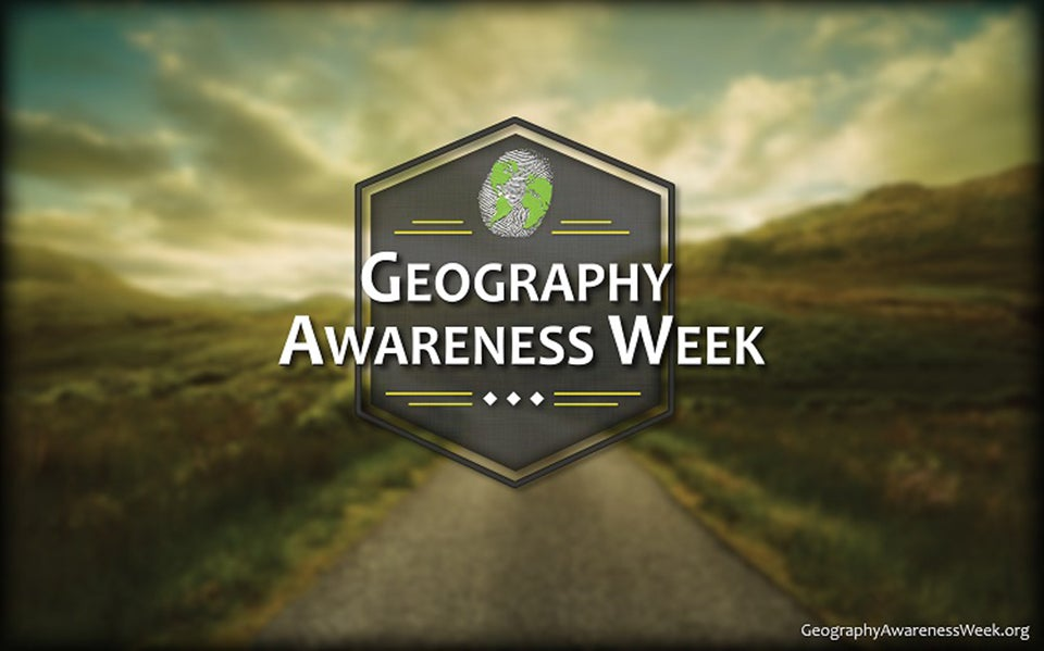 Geography Awareness Week Image