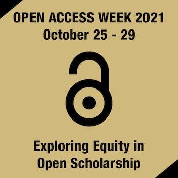 Open Access Week 2021 - October 25 - 29
