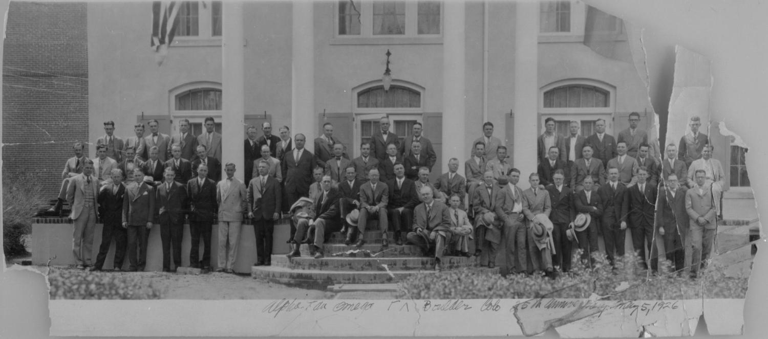 the 25th anniversary of the ATO's in Boulder on May 5th, 1926