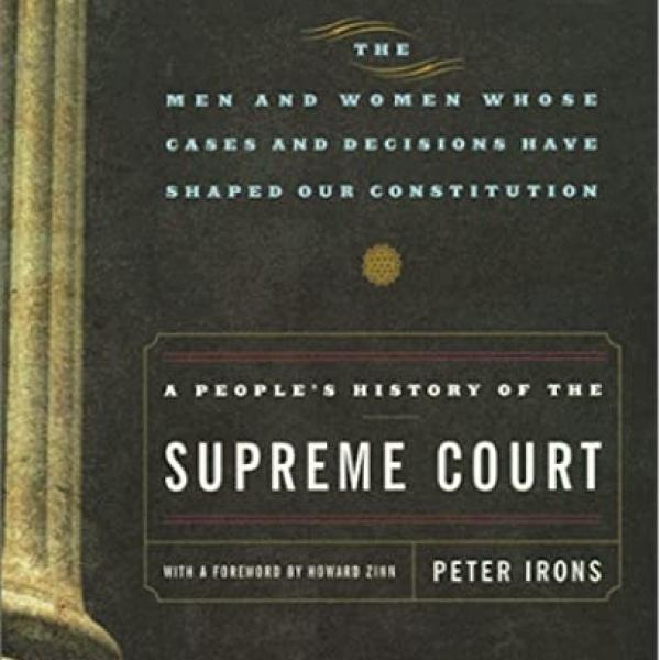 Cover for a People's History of the Supreme Court