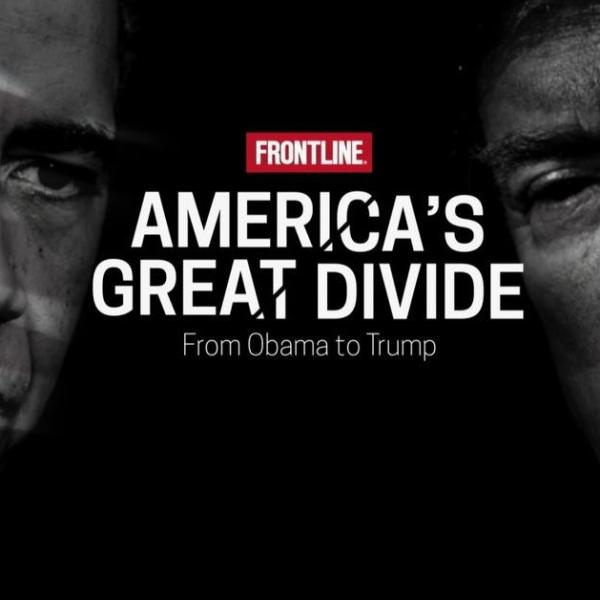 Cover of America's Great Divide.