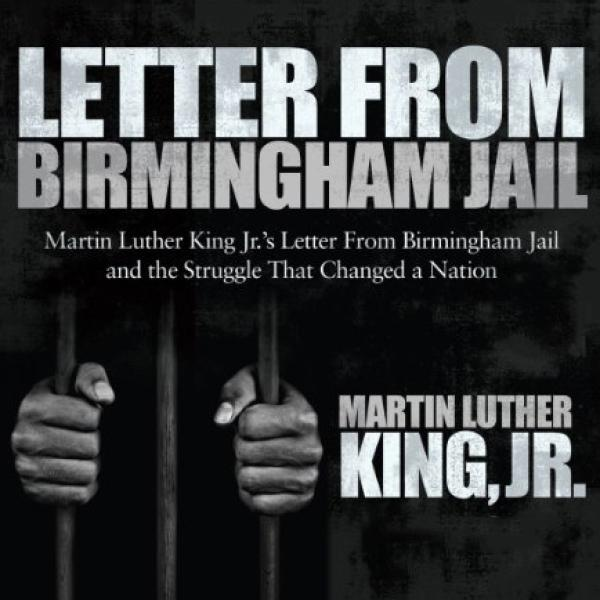 The cover of Letter From Birmingham Jail