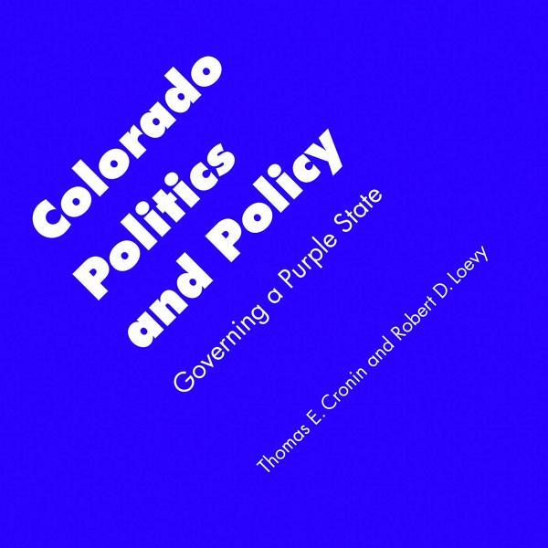 Cover of Colorado Politics and Policy.