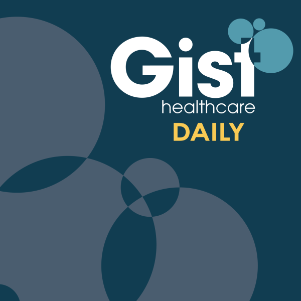 Cover of Gist Healthcare Daily.