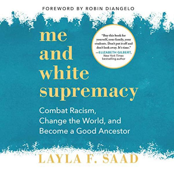 The cover of Me and White Supremacy