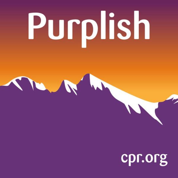 Cover of the Purplish podcast.