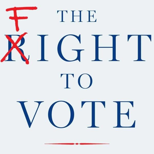 Cover for the Fight to Vote