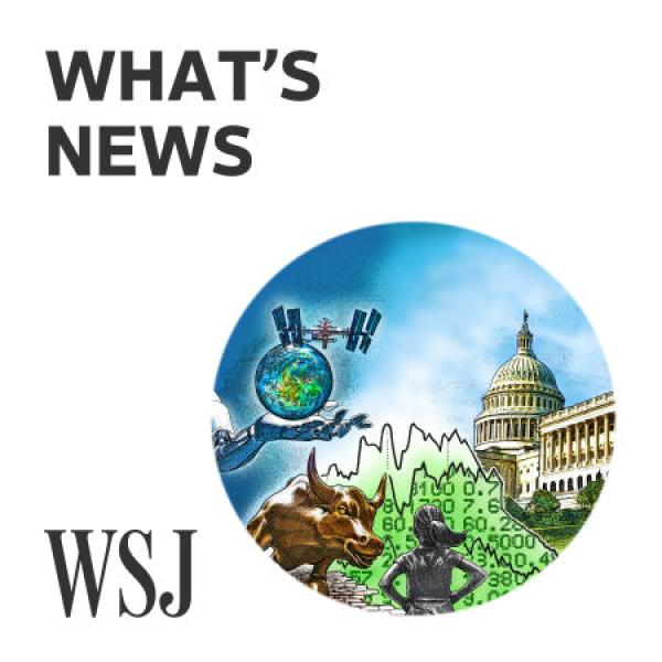 Cover of What's News podcast.