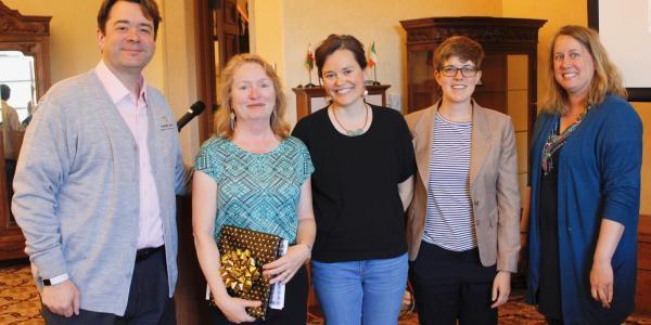 Robert McDonald, Barbara Losoff, Megan Friedel, Lindsay Roberts, and Cynthia Keller