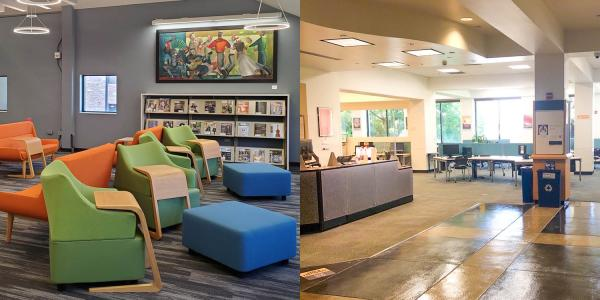 The Gemmill and Music Libraries