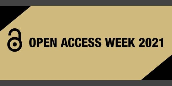 Open Access Week 2021 graphic