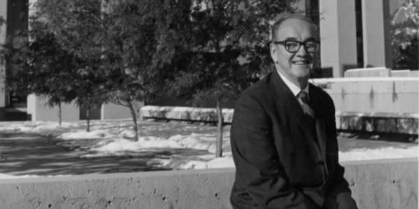 Portrait of Walter Orr Roberts, former director of the National Center for Atmospheric Research (NCAR).