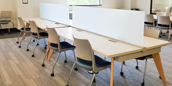 The business library study spaces