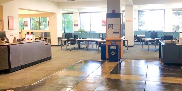 The gemmill library study spaces