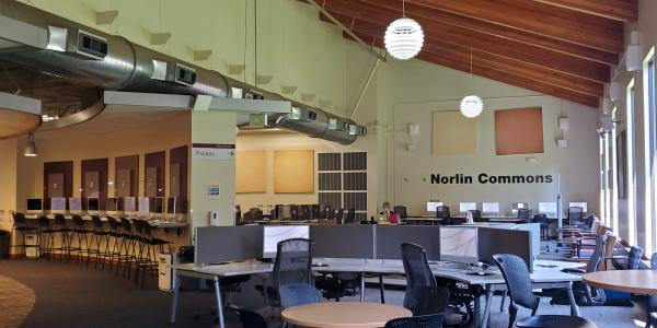Study spaces in the Norlin Commons