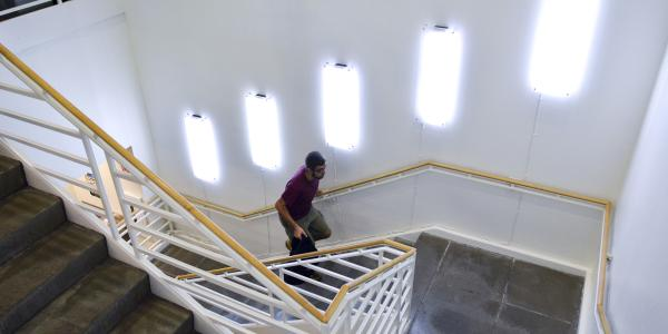 Gemmill Library interior