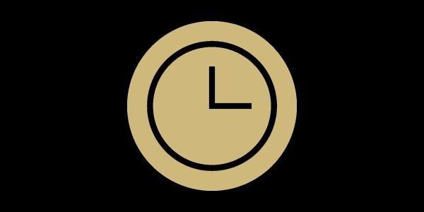 A clock icon