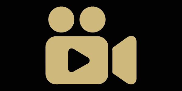 A graphic of a camera recording.