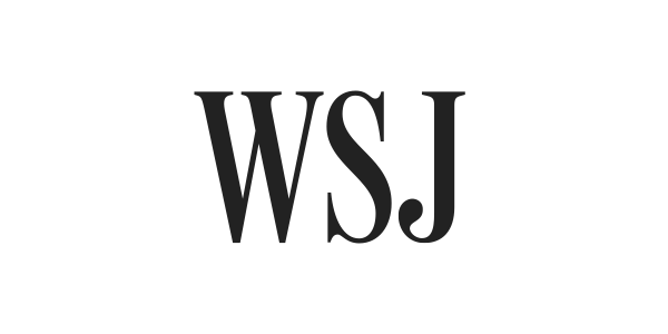 The masthead of the Wall Street Journal