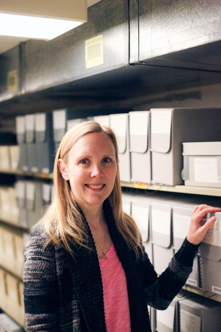 Jennifer Sanchez, Photo Archivist for the CU Boulder Libraries