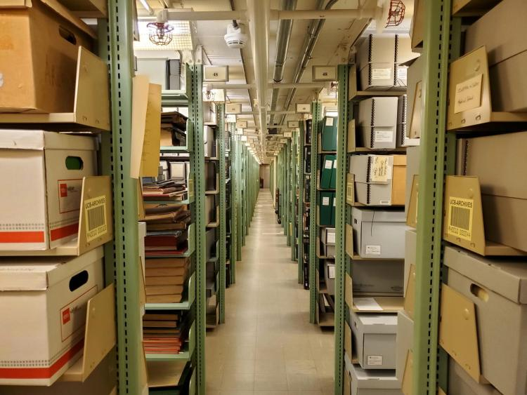 The Archives in University Libraries is home to over one million documents.
