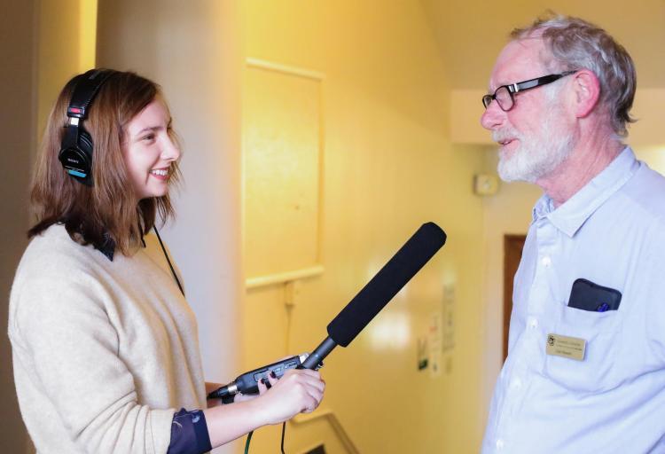 Claire Woodcock interviews Carl Stewart.