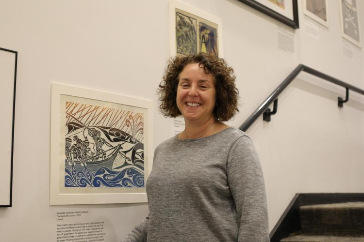 Naomi Heiser curated this exhibit for the Earth Sciences & Map Library.