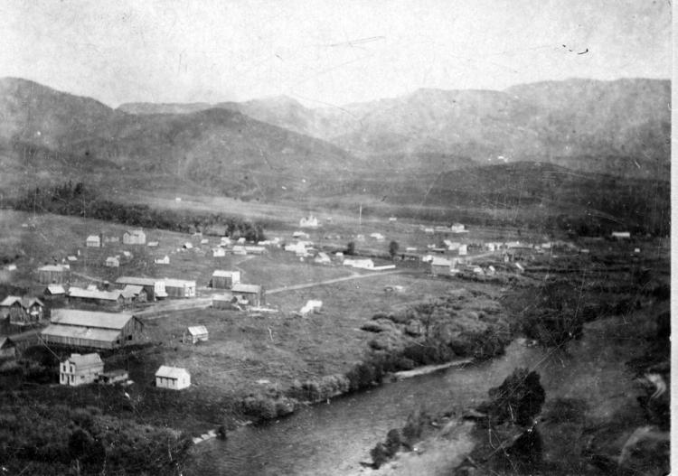 Town of Steamboat Springs from 1893