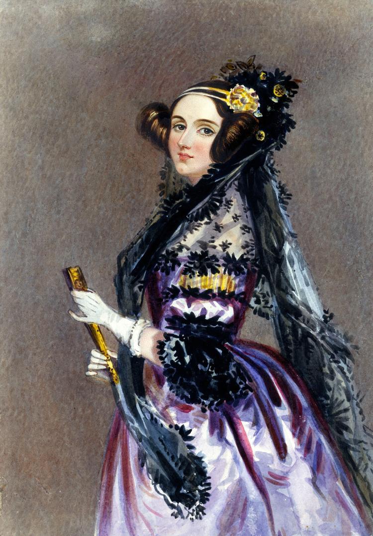 A portrait of Ada Lovelace
