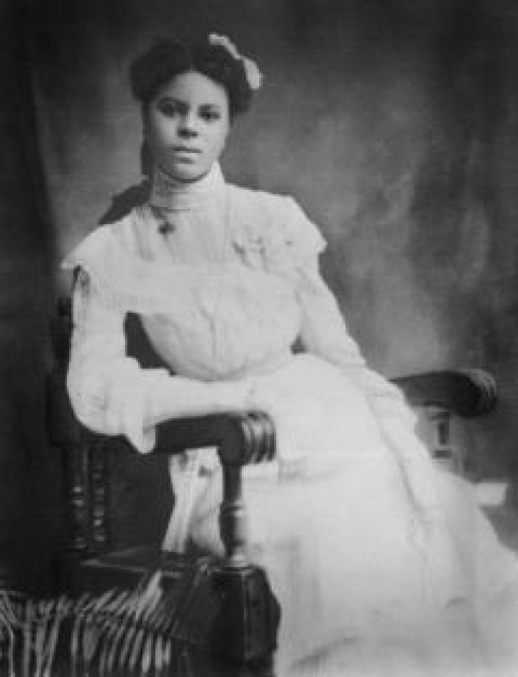 Lucille Berkeley Buchanan, the first African American woman to graduate from CU Boulder.