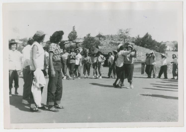 Female protesters from Western Federation of Miners