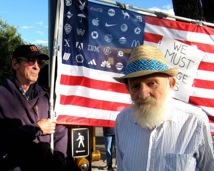 """ames """"Jim"""" Zarichny, a lifelong activist in the labor, civil rights, peace, and socialist movements"""