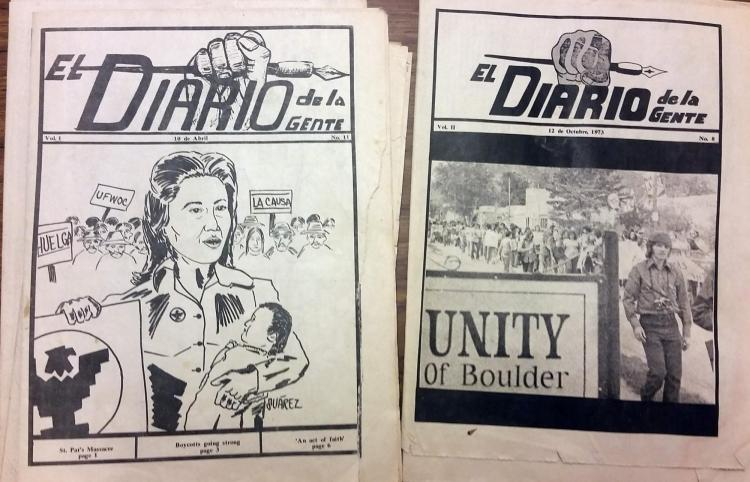 materials documenting the Lettuce Strike of 1973 in Colorado