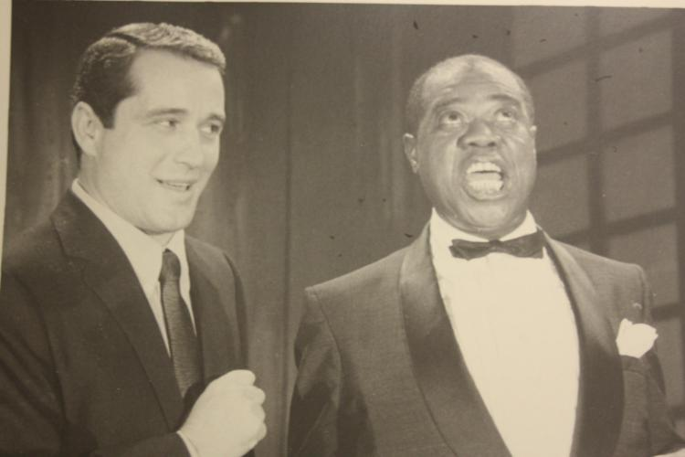 Perry Como and Louis Armstrong, from the AMRC collection