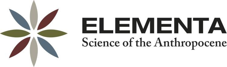 Elementa Science of the Athropocene Journal logo