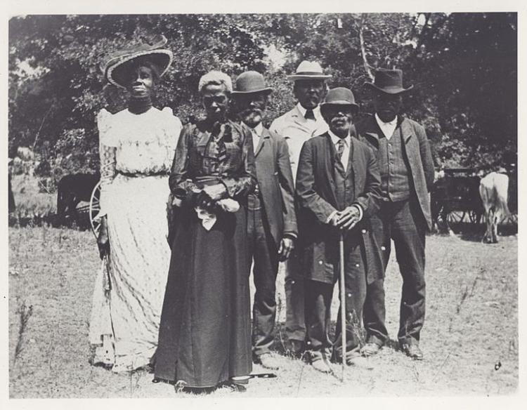 Juneteenth Emancipation Day Celebration, June 19, 1900, Texas.