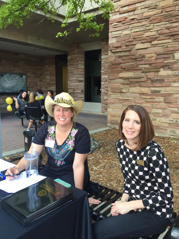 Librarians welcome transfer students at CU Boulder.