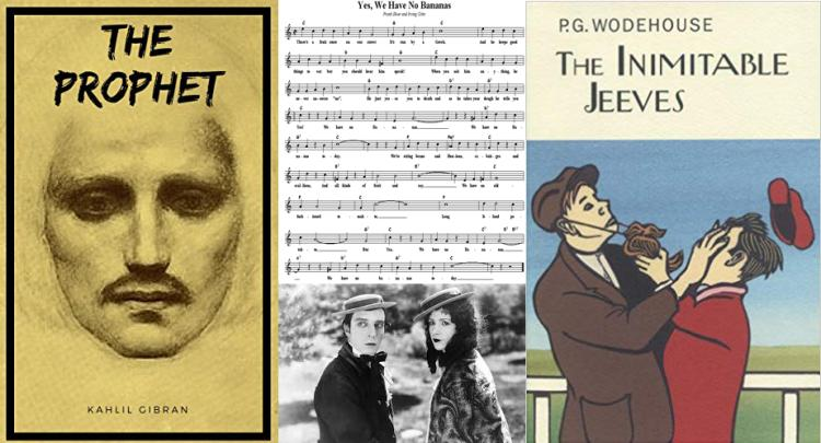 A sampling of works entering the public domain in 2019