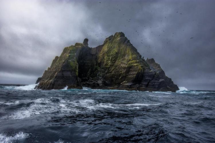 (Stormy Irish Seas/Ansh Desai)