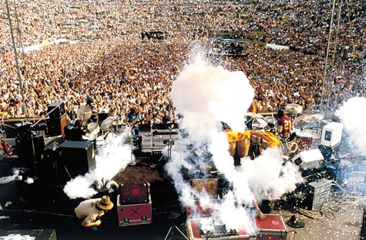 The Doobie Brothers at Folsom Field, University of Colorado Boulder