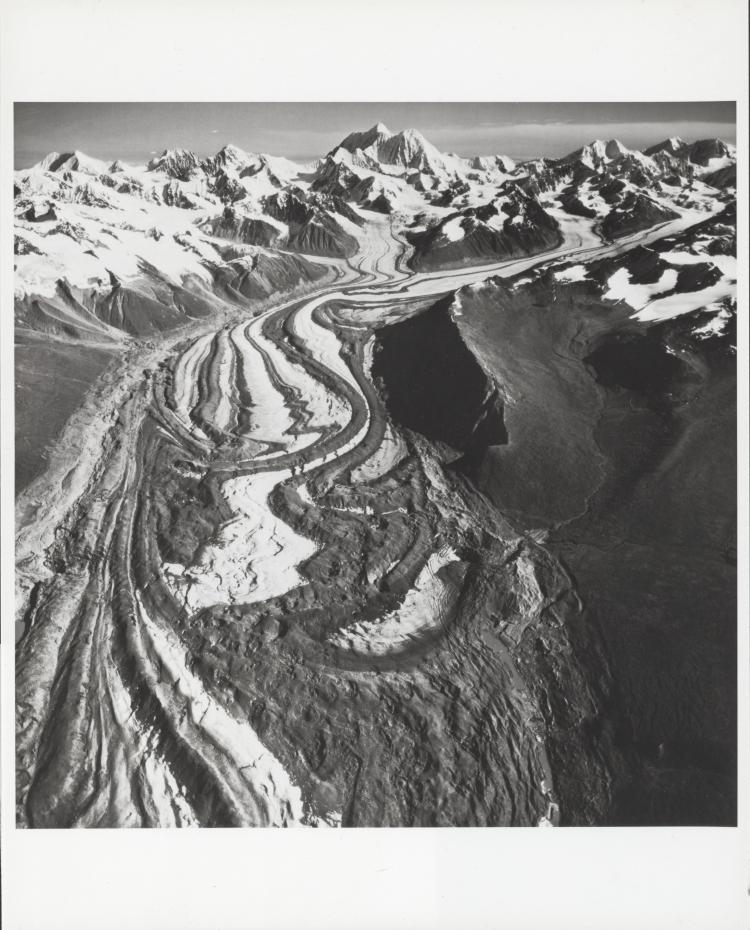 Mount Russell, aerial photograph FL 58 L-1, Alaska. September 16, 1942. Unidentified photographer