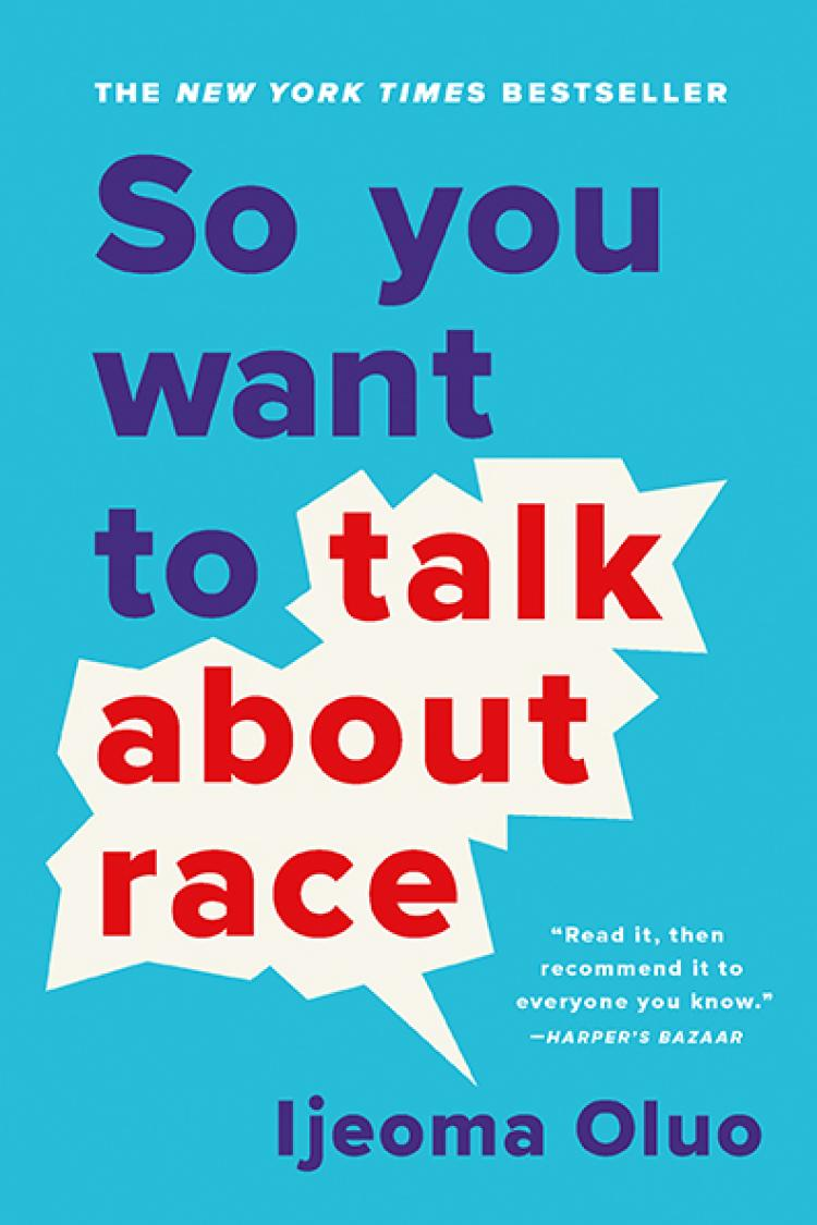 The cover of So You Want To Talk About Race