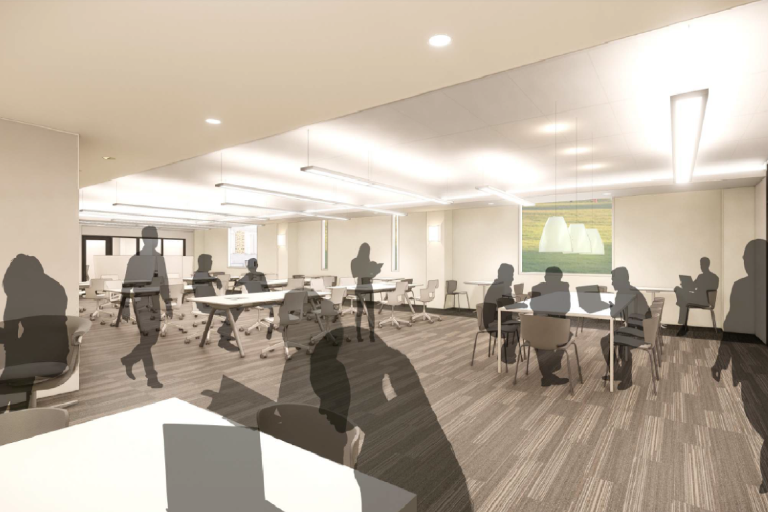 Architect Rendering of Study Area