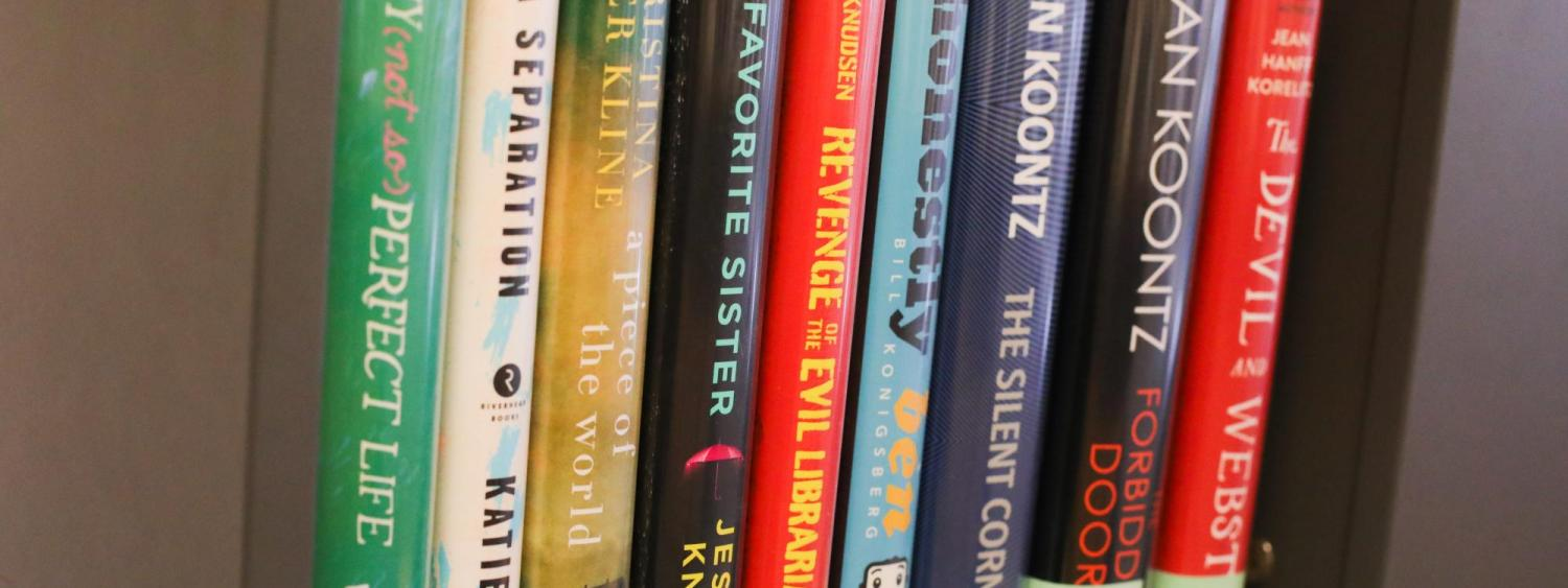 A selection of popular fiction titles